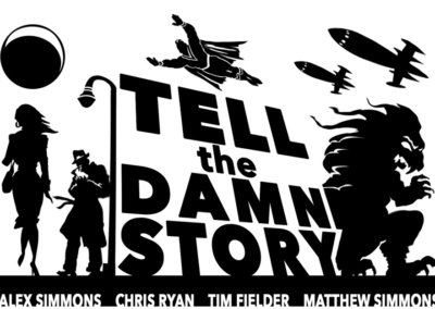 Tell the Damn Story Logo