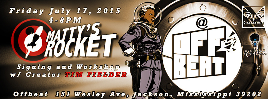 Book signing and workshop at OffBeat