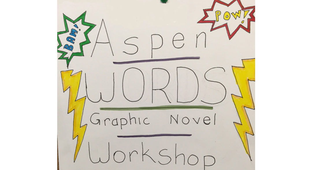 Aspen Words Dieselfunk ComicBook workshop
