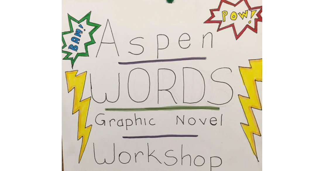 Aspen Comics Workshop Sign