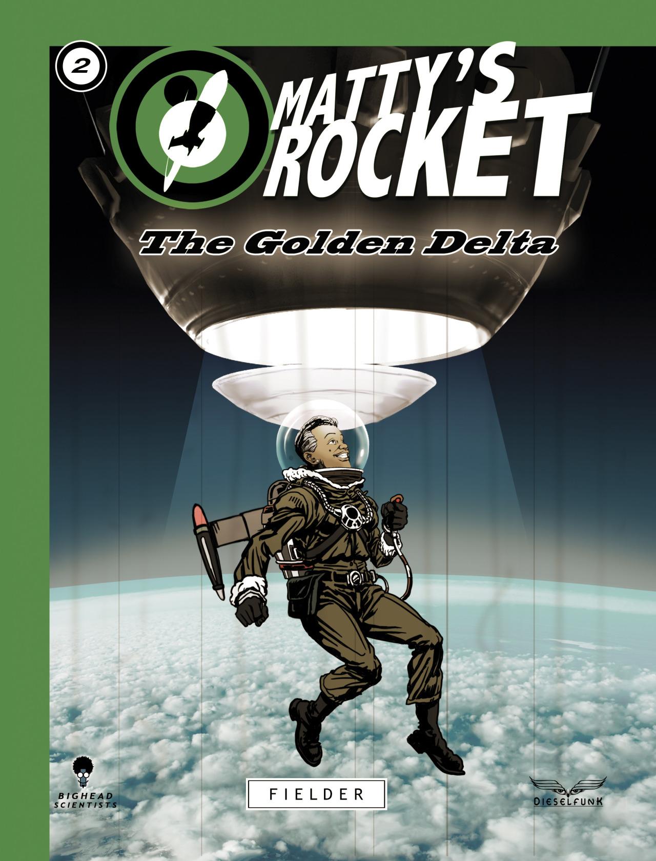 Matty's Rocket No. 2 Cover