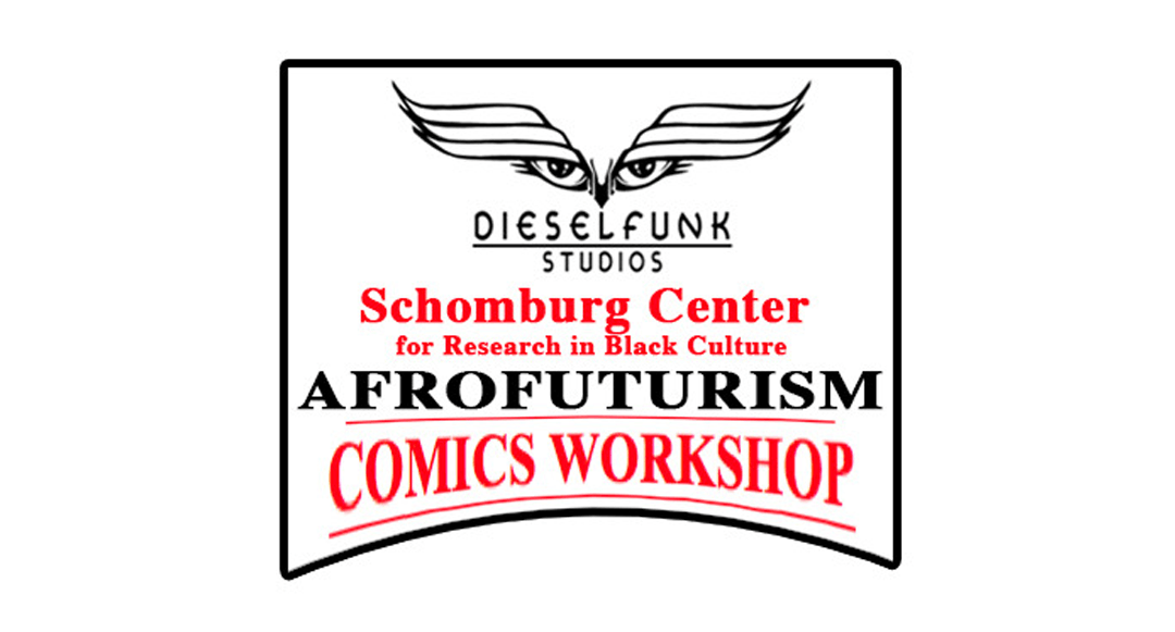 Afrofuturism Comics Workshop!