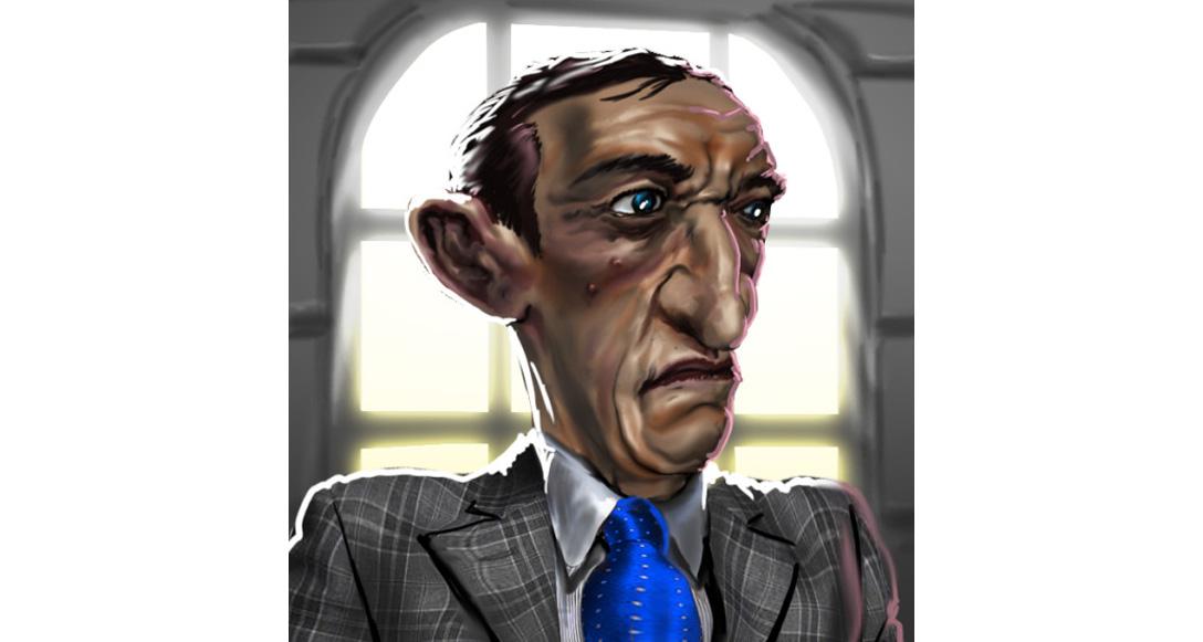 Gangster Illustration