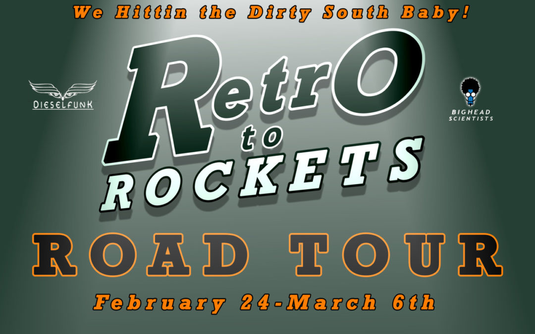 PLANETDEEPSOUTH + OFFBEAT = Retro to Rockets DAY 1!