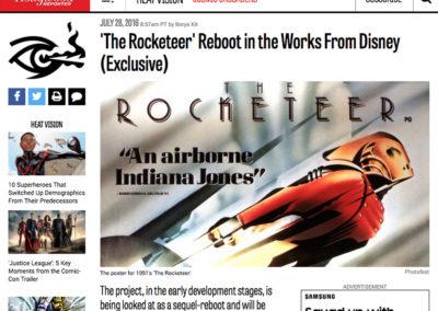 Rocketeer Reboot Headline in Varaity