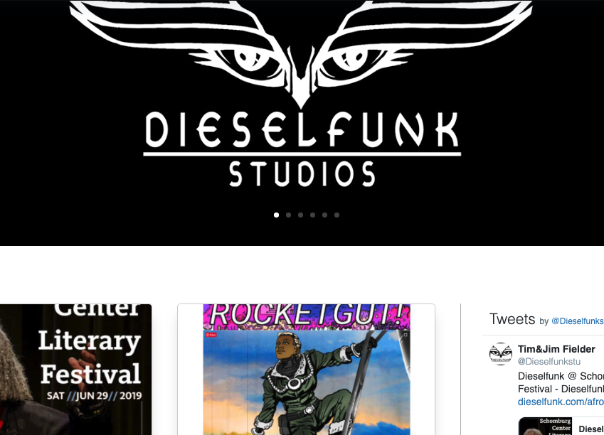 Dieselfunk Website Relaunch ACTIVATE!